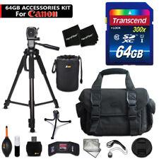 64GB ACCESSORIES Kit for Canon EOS Rebel T6s w/ 64GB Memory + CASE + MORE