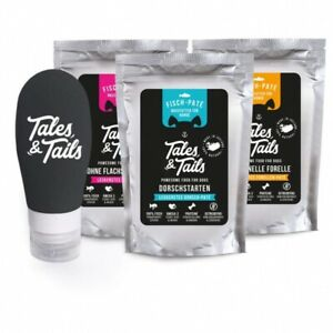 Tales & Tails PAWESOME FOOD FOR PETS Futtertube für Hunde inklusive hochwertige
