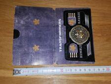 Transformers masterpiece medal coin pièce collector jaguar