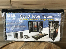 The Bead Smith Bead Tube Tower (Holds Round Tubes) Black - BTW1 Holds 138 Tubes