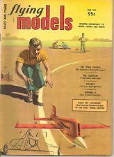 "Vintage Flying Models Magazine Boats & Planes June 1954 - ""Scatwood"" - Robomb X"