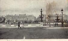 PARIS La Place de la Concorde (Collection Petit Journal)
