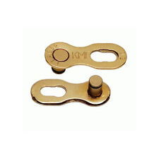 KMC 9 Missing Link For KMC Sram or Shimano 9 Speed Chain - Gold