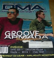DMA Sep '01 Groove Armada Cover/ Daft Punk Depeche Mode Lisa Stansfield reviews