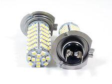 2pcs H7 3528 102 SMD LED Car Auto Head Light Pure White Bulb Lamp 6000k DC 12V