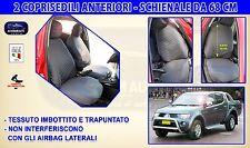 Coprisedili Mitsubishi L200 2006>2015 Fodere per auto copri sedili Schienali