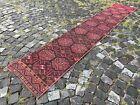Wool rug, Bohemian rugs, Runner, Handmade rug, Turkish, Vintage | 1,9 x 10,4 ft
