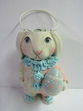 Bethany Lowe Easter Bunny Spring Bucket Head Tj7736 New