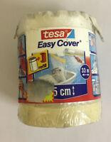 Tesa Easy Cover telo protettivo filmico con nastro adesivo 33 mt x 55 cm nuovo