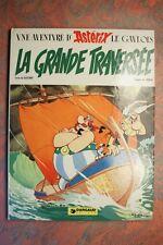 * ASTERIX LA GRANDE TRAVERSEE (1293GU.) GOSCINNY 1975 EDITION ORIGINALE TBE