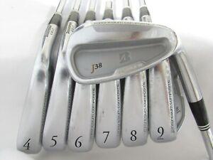 Used RH Bridgestone J38 Forged Iron Set 4-P Stiff Flex Steel Shafts