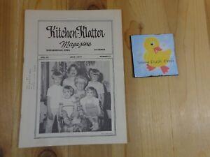 Kitchen Klatter Magazine July 1977 A Favorite Time Happy Little Travelers