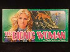 VINTAGE 1976 THE BIONIC WOMAN BOARD GAME OUTSTANDING CLEAN COMPLETE CLASSIC TV