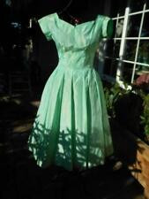 "1950's Mint Green ""Bow Tie""-Tiny Tuesday Dress-sr53"