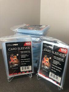 100 Ultra Pro Sleeves - Penny Sleeves - regular size NBA, NFL, MLB + Non-Sport