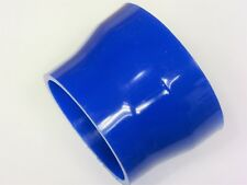 "76-65mm Silicone Straight Reducer (3""-2.5"" Inch) BLUE, CLEARANCE LOT QTY 4 ITEMS"
