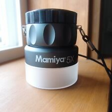 MAMIYA 5X MAGNIFYING LOUPE - RARE MEDIUM FORMAT FILM 120 35MM NEGATIVE SLIDE