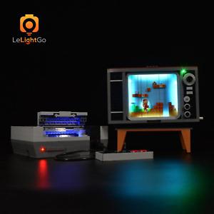 LED LIGHT KIT FOR 71374 NINTENDO ENTERTAINMENT SYSTEM Super Mario KIT 71374 kit
