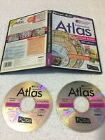 ORDNANCE SURVEY INTERACTIVE ATLAS OF GREAT  BRITAIN PC cd-rom 5th EDITION