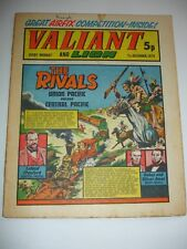VALIANT And LION comic 7th December 1974.