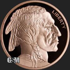 2 oz Copper Round - Buffalo Nickel