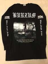 Black metal Long sleeve M shirt EmperorEnslaved Darkthrone Mayhem 1349 Immortal
