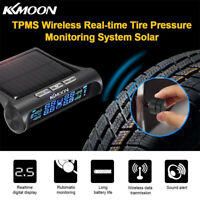 Car Wireless TPMS Tire Pressure Monitor System+4 Sensors LCD Display For Opel 28