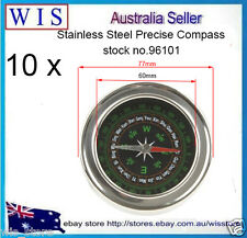 10 x  Stainless Steel Precise Compass Navigation gps for Travel Camping-96101