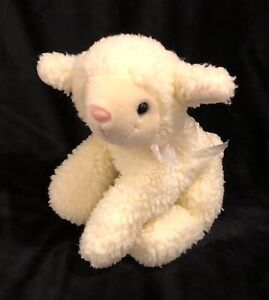 Fiesta Lamb Sheep Cream Plush Stuffed