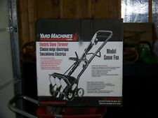 "YARD MACHINES SNOW FOX 8.5 AMP CORDED ELECTRIC SNOW THROWER-12-1/2"" WIDE CUT"
