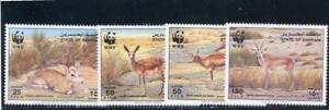 Bahrain 1993 Animals  Scott# 408-11  mint Hinged