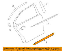 FORD OEM 10-18 Taurus Exterior-Rear-Side Molding Right AG1Z5425556AA