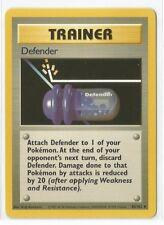 Pokemon Base set uncommon trainer Defender 80/102 Near mint condition