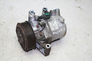 Nissan Micra K13 1.2 Bj.12 Klimakompressor Klima kompressor 926001HC5A