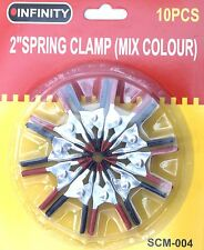 Spring Clamp 50mm Metal mini clips 10pc