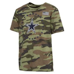 Dallas Cowboys Youth Boys USA Camo T-Shirt