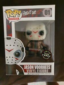 Friday The 13th: Jason Voorhees Chase GITD Pop! Vinyl #01