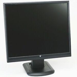 """19"""" TFT LCD V7 D1912 800:1 5ms VGA DVI-D Monitor schwarz 1280x1024 VGA DVI-D"""
