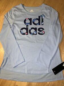 MEDIUM  Girls Adidas Long Sleeve Tee BNWTS $26.00