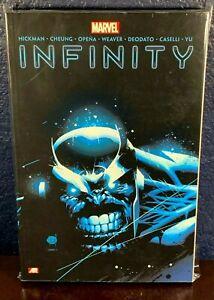Omnibus INFINITY Graphic Novel 2014 New Avengers Thanos Illuminati Hickman Book