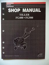 HONDA SHOP MANUAL TILLER FG400.FG500  1998
