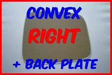JEEP LIBERTY 2001-2007 WING MIRROR GLASS CONVEX + BACKING PLATE RIGHT
