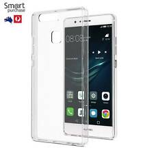 Soft Transparent TPU Cover Case For Huawei P9 or P9+ Clear Cover Silicone Rubber