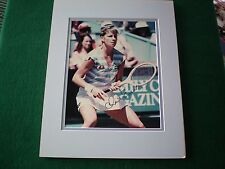 CHRIS EVERT SIGNED 8 X 10 PHOTO MATTED