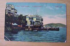 Turkish  [ OTTOMAN ]  Postcard  ***  Prinkipo  ( Buyukada )  Hotel  Calypso