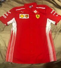 Puma Ferrari Scuderia Replica Team Shirt Small red polo jacket T racing formula