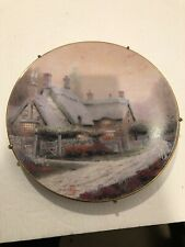 knowles collector plates Thomas Kinkade's McKenna's Cottage 1992 Plate # 6924A