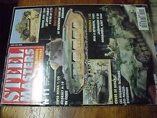 µ? Revue  Steel Masters n°11 Vegetation dans Diorama Insigne Panzer division
