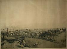 Luigi Kasimir ( 1881-1962 ) Wien Panorama 1913