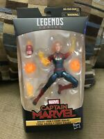 "Marvel Legends 6"" Captain Marvel Binary Walmart Exclusive MCU New Sealed"